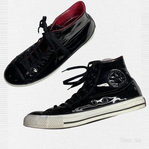 Converse Patent Leather Chuck Taylor Hi Tops 11113